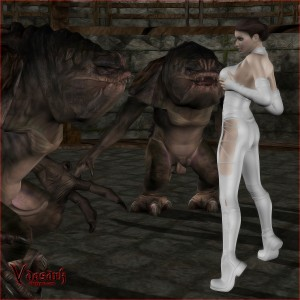 Monster Woman beastiality 3d