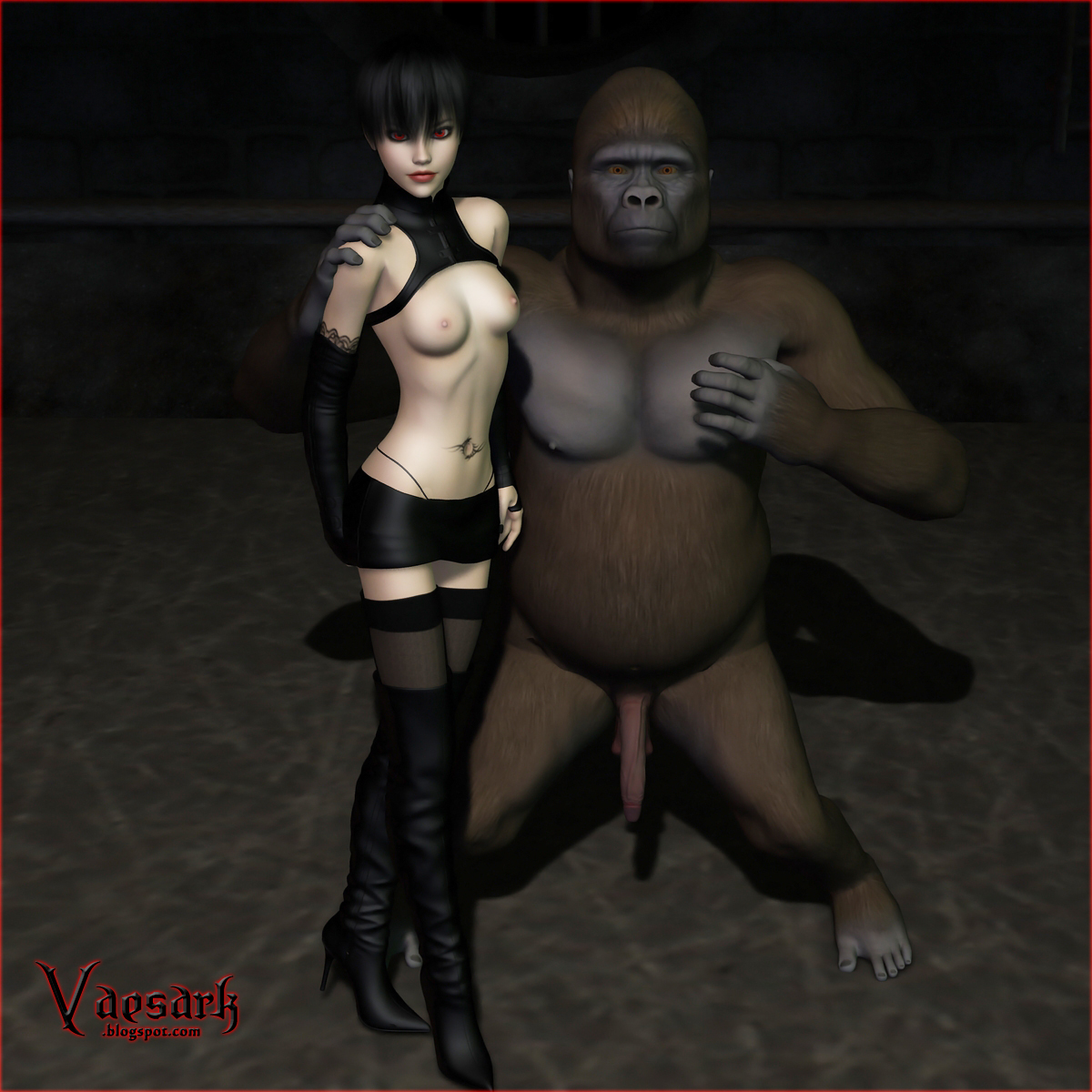 3d of gorilla and girl hentai hentai galleries