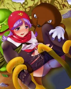 Studio Pork Collection Hentai CG Beastiality Manga Doujinshi