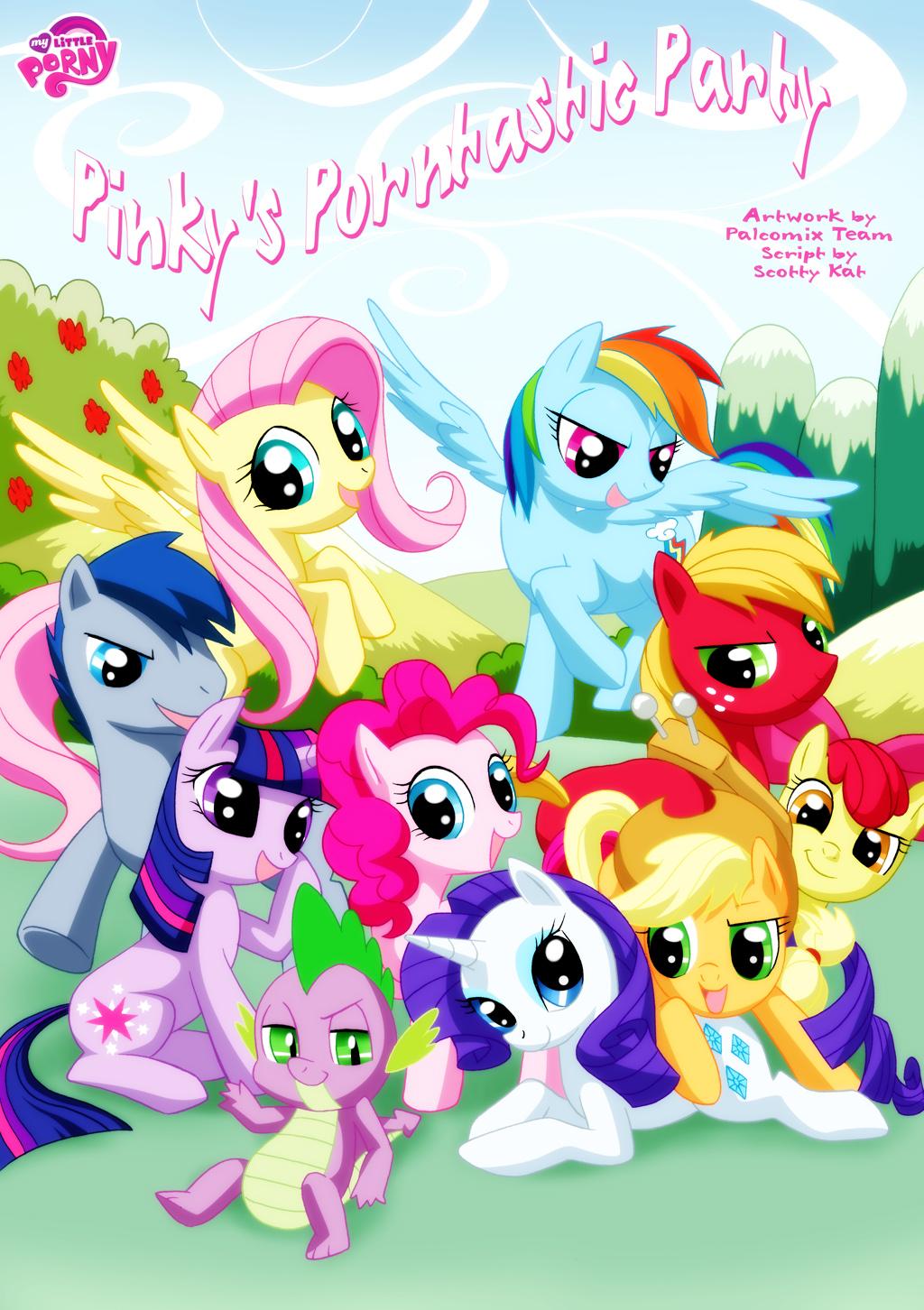 My Little Pony Palcomix